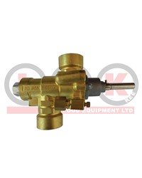 BURNER VALVE FOR SPTDS OR WOK BENCH