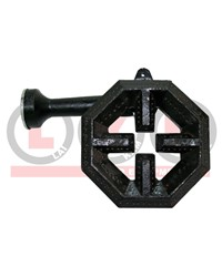 BERJAYA HEXAGON BURNER WITH SHORT VENTUR
