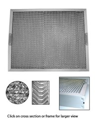 GREASE FILTER 495x495x50