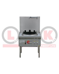 "LKK 1 BURNER WOK BENCH 17""WOK RING BK-DR 17"