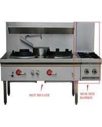 GAS SIDE BURNER FOR WOK